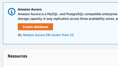 Relational Database Service tutorial