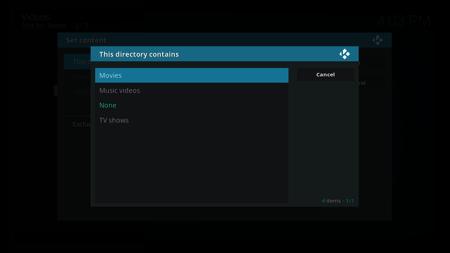 Kodi Movies Select Sources 5