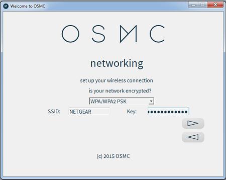 OSMC Installation Configure Networking