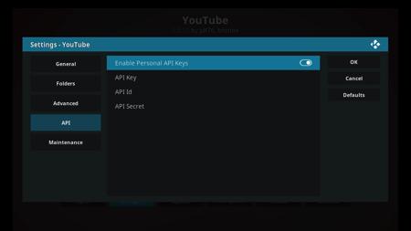 Youtube Add On - Enable API