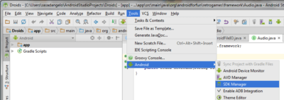 Android Studio HAXM SDK Manager