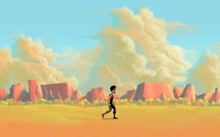Background Sprite Walking