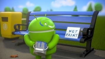 Blue bot paint