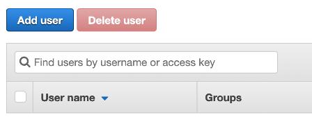 IAM Add User