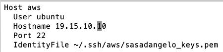 Amazon EC2 Configure SSH