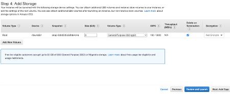 Amazon EC2 Add Storage